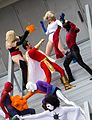 Dragon Con 2013 - JLA vs Avengers Shoot (9668231873).jpg