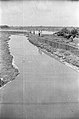 Drain Carrying Leather Industries Waste - Science City Site - Dhapa - Calcutta 1993-June 636.JPG