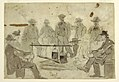 Drawing, Campfire with Soldiers Grouped About, 1862 (CH 18173827).jpg