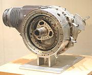 First Wankel Engine DKM54 (Drehkolbenmotor), at the Deutsches Museum in Bonn, Germany