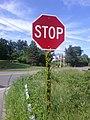 Dressed up Stop Sign - panoramio.jpg