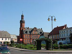 Drezdenko - Image: Drezdenko, town hall