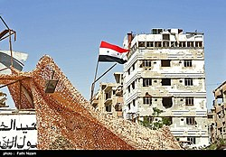 Duma after the recapture by the Syrian Arab Army 31.jpg