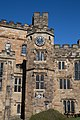 Durham Castle north range - view of stair tower with clock.jpg