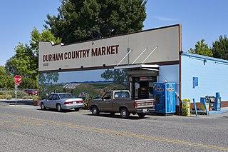 Durham, California Census-designated place in California, United States