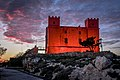 Dusk at the Red Tower.jpg