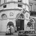 Dwergwalvis van 7 meter opgezet in de opslagplaats van het Zoologisch Museum te , Bestanddeelnr 914-3712.jpg