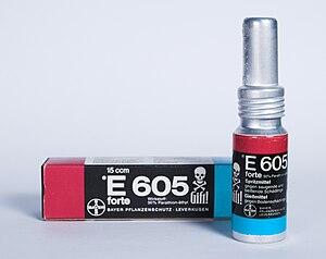 Parathion - Bottle with E605