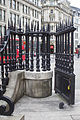 EH1194622 Railings to Churchyard of Cathedral Church of St Paul 01.jpg