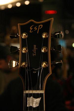 ESP Eclipse - Image: ESP guitar