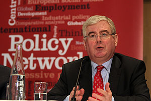 Eamon Gilmore pictured in Oslo.