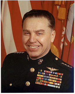 Earl E. Anderson Assistant Commandant of the United States Marine Corps