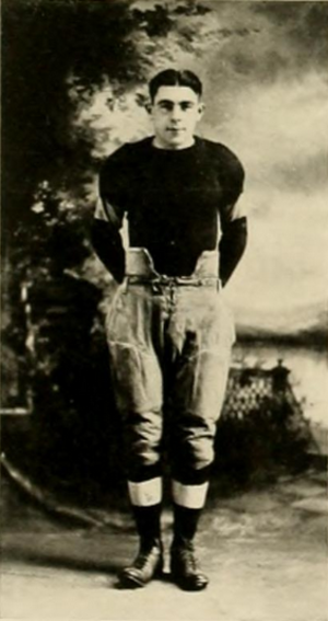 Earl Krieger - Krieger pictured in Athena 1920, Ohio yearbook