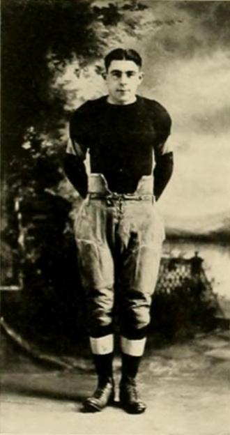 Earl Krieger - Krieger pictured in Athena 1920, Ohio yearbook