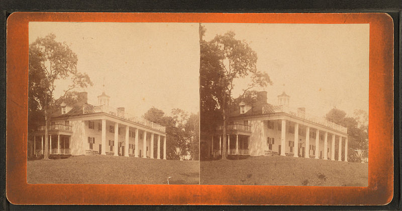 File:East view of Mount Vernon mansion, by Dillon, Luke C., 1844-.jpg