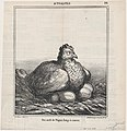 Easter eggs hatched for a long time, from 'News of the day,' published in Le Charivari, April 13-14, 1868 MET DP877704.jpg