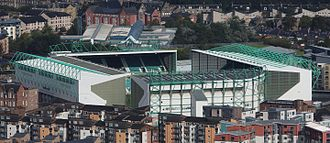 Easter Road - The exterior of Easter Road
