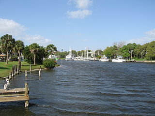Eau Gallie River river in the United States of America