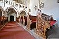Eberstein Sankt Walburgen Pfarrkirche hl Walburga geschnitzte Baenke 11032014 666.jpg