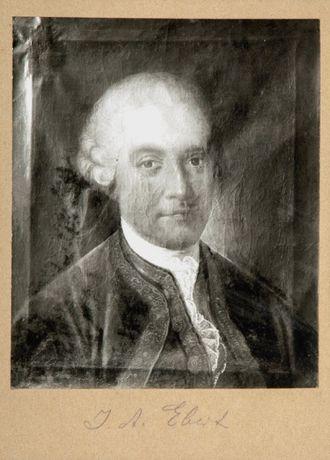 Johann Arnold Ebert - Johann Arnold Ebert, painted by Benjamin Calau, 1770