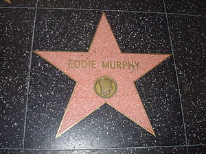 Eddie Murphy - Eddie Murphy's star on the Hollywood Walk of Fame