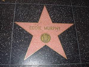 Eddie Murphy - Eddie Murphy's star on the Hollywood Walk of Fame
