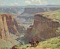 Edgar Payne Riders Overlooking Canyon.jpg