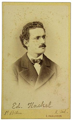 Eduard Hackel