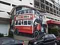 Eduardo Kobra, old bus, São Paulo, Brazil.jpg