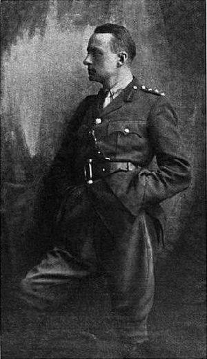 Edward Knoblock - Captain Edward Knoblock (circa 1918)