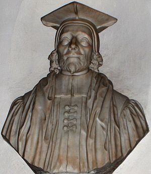 Edward Pococke - Bust of Edward Pococke in Christ Church Cathedral, Oxford