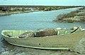 Eel baskets in boats north of Santa Maria de la Mer 1964 (37596998674).jpg