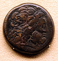 Egitto tolemaico, moneta battuta in rame, III sec. ac.JPG