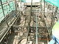 Eglinton Tournament Bridge with the concrete decking removed.JPG