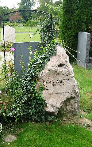Jean Améry - Grave of Jean Améry at the Zentralfriedhof Vienna.