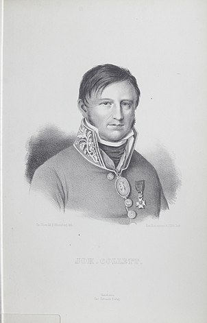 Johan Collett father of the Constitution of Norway and member of Stortinget