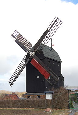 Eimersleben Bockwindmühle