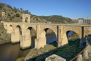 Alcántara Bridge Roman bridge over the Tagus in Extremadura