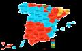 Elecciones generales españolas de 1993 - distribución del voto.png