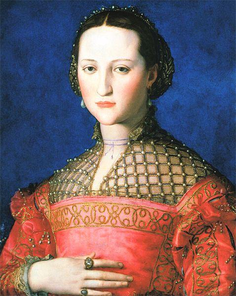 Archivo:Eleonora di Toledo 1543 Agnolo Bronzino.jpg
