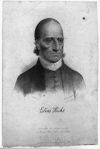 Elias Hicks - Image: Elias Hicks engraving