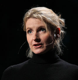 Elizabeth Gilbert op een TED-conferentie in 2009