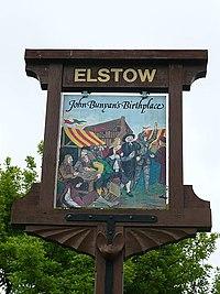 Elstow Village Sign (2) - geograph.org.uk - 823234.jpg