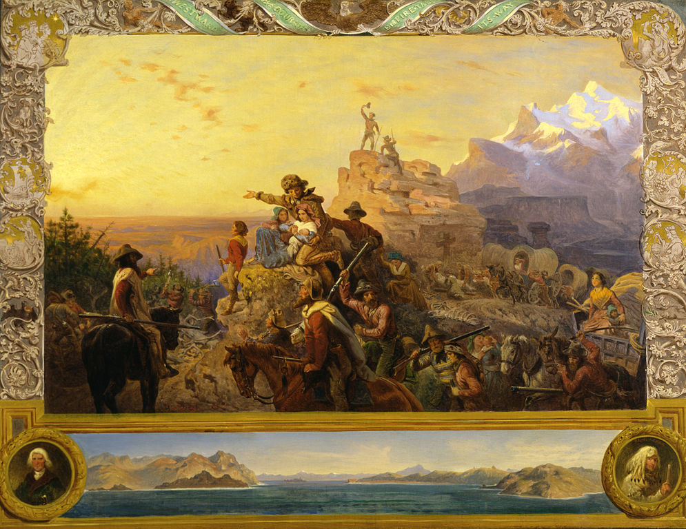 Westward the Course of Empire Takes Its Way, by Emanuel Leutze