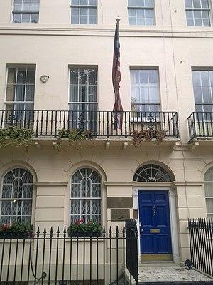 Embassy of Liberia, London - Image: Embassy of Liberia in London 1
