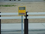 Emergency call box at Daybreak Parkway station, Apr 16.jpg