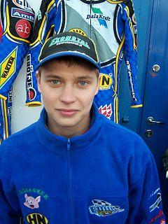 Emil Sayfutdinov Russian motorcycle speedway rider
