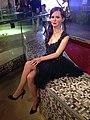 Emma Watson figure at Madame Tussauds London (30331226323).jpg