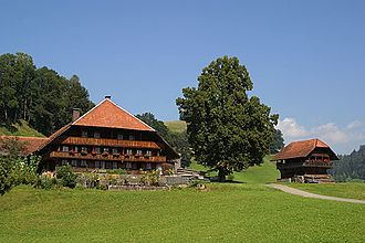 Emmental - A farmhouse in the Emmental