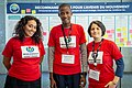 Emna, Aboubacar et Diane - WikiConvention fr 2019.jpg